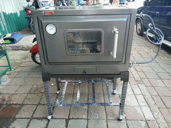 oven gas murah bima 8044+termo via ekpedisi