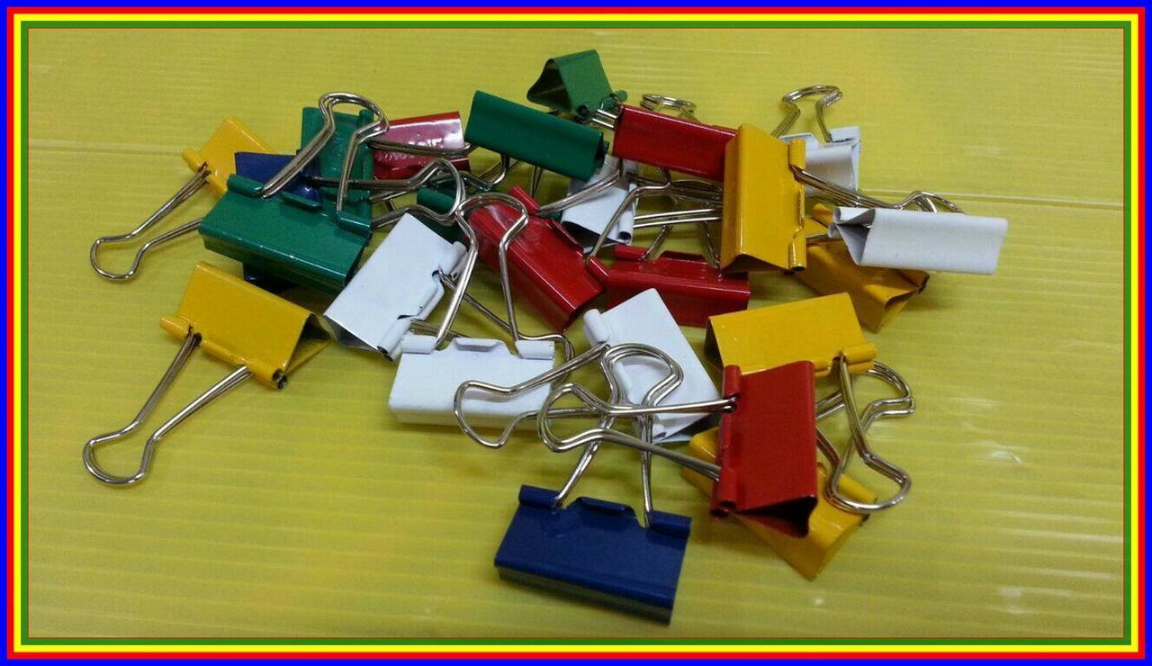 Joyko Binder Clip Warna No. 155 1 Drum Isi 24 Pcs