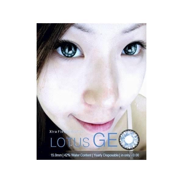 Geo Crazy Lens Blind White Putih Penuh Gratis Source · Softlens Barbie Super .
