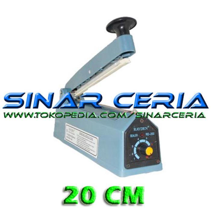 Impulse Sealer 20cm Mesin press Plastik Mesin Pengemas plastik
