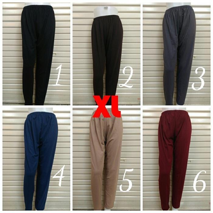 Legging Leging Celana Panjang Kaos Wanita XL Ika Fashion Tanah Abang