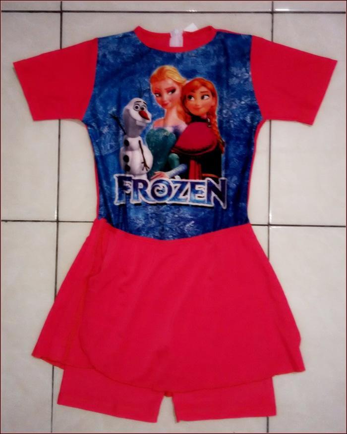 Baju Renang Anak SD FROZEN - lG8XGi