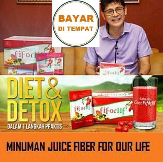 Fiforlif Original Diet Detox Herbal Alami Pelangsing Surabaya