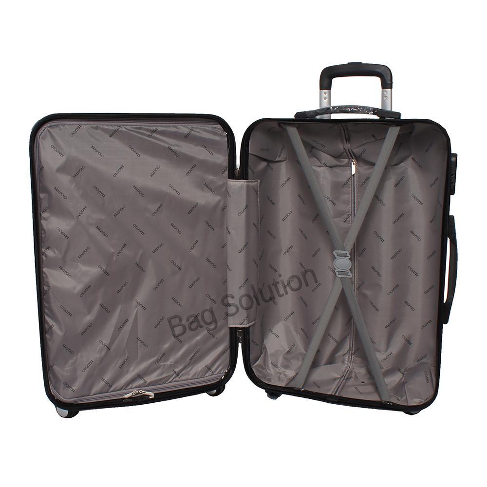 Real Polo Tas Koper Hardcase Fiber ABS - 4 Roda Putar - GGAG .