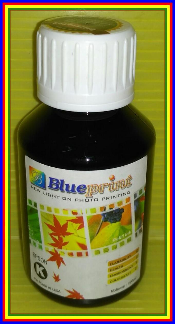 Jual tinta printer blueprint terbaik lazada blueprint tinta botol 100 ml for epson black malvernweather Image collections