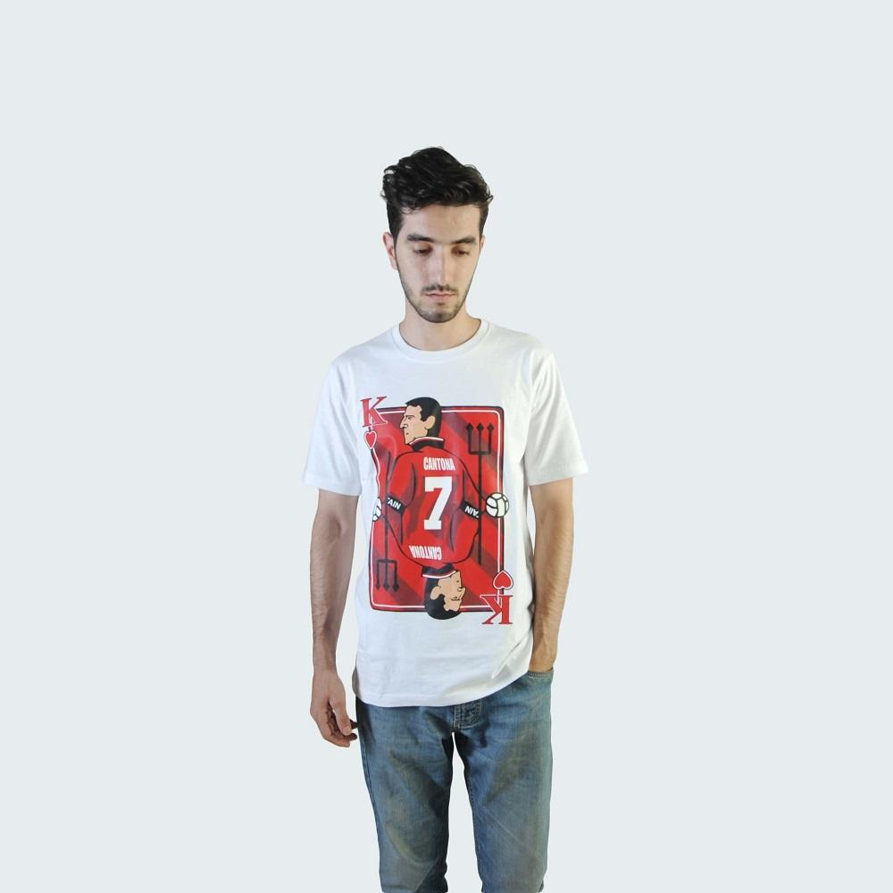 Kaos/Tshirt/Premium Tees Sepak Bola EPL (English Premier League) Eric Cantona