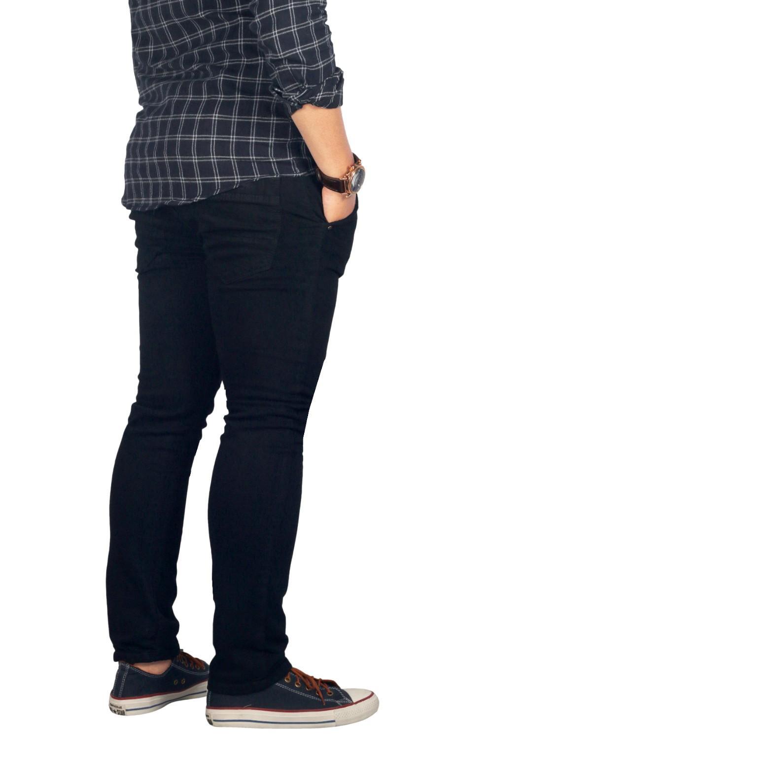 Cek Harga Baru Celana Jeans Cewek Hitam Skinny Terbaru Termurah Polos Bsg Fashion1 Panjang Soft Lepis Pria