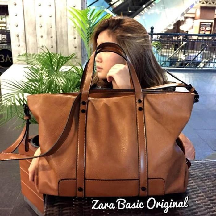 Tas wanita branded handbag cewek murah import, Zara basic original - Tas Wanita Murah - Tas Import - Bag Premium - Fashion Wanita - Tas Terlaris