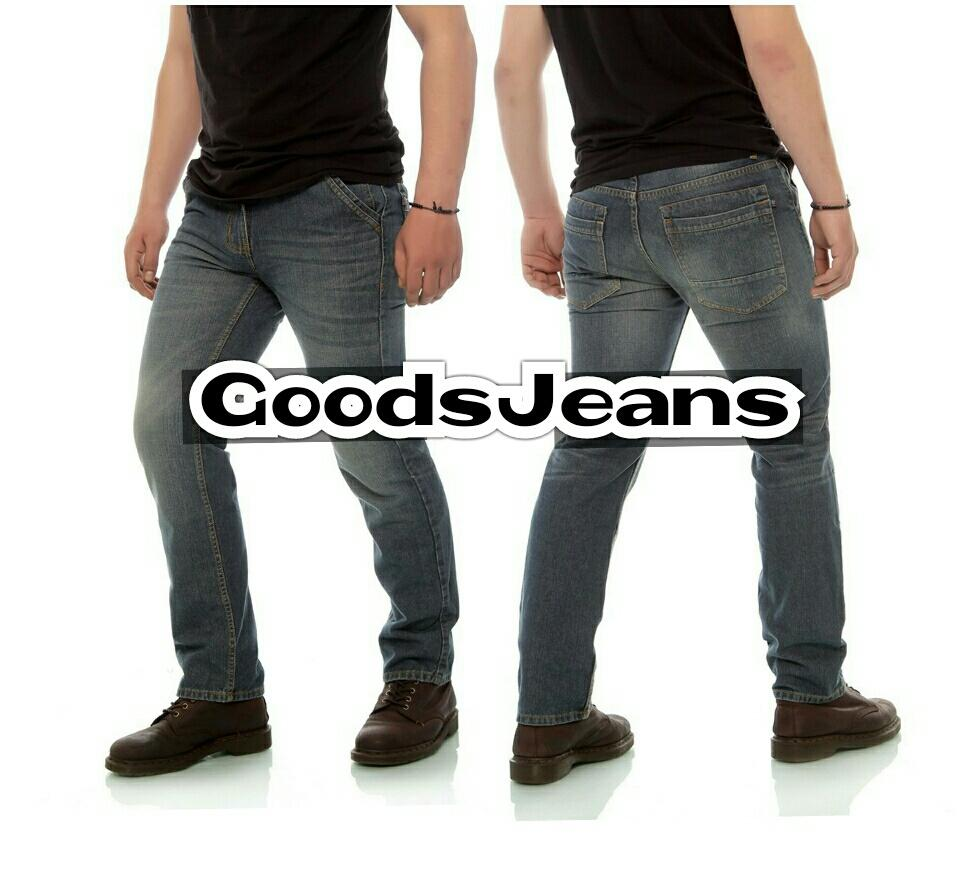 Celana Jeans pria  Celana jeans reguler fit  Celana jeans standar  Celaba Jeans lurus