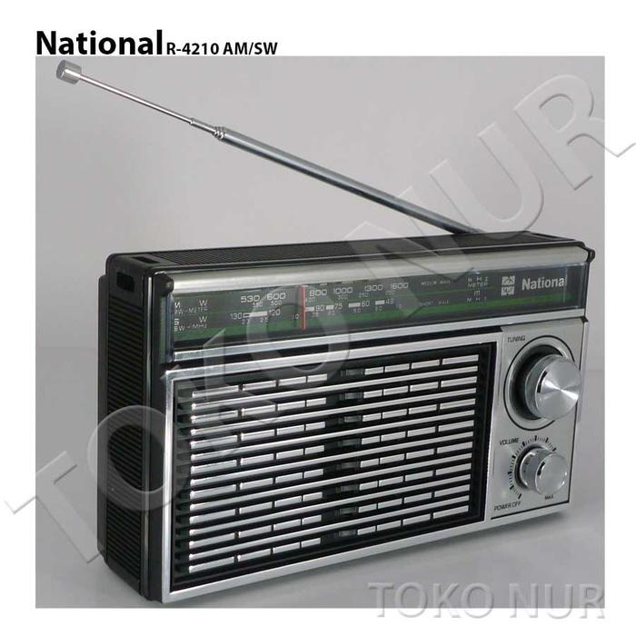 Radio National R 4210-y - Original National Panasonic -Barang Langka-