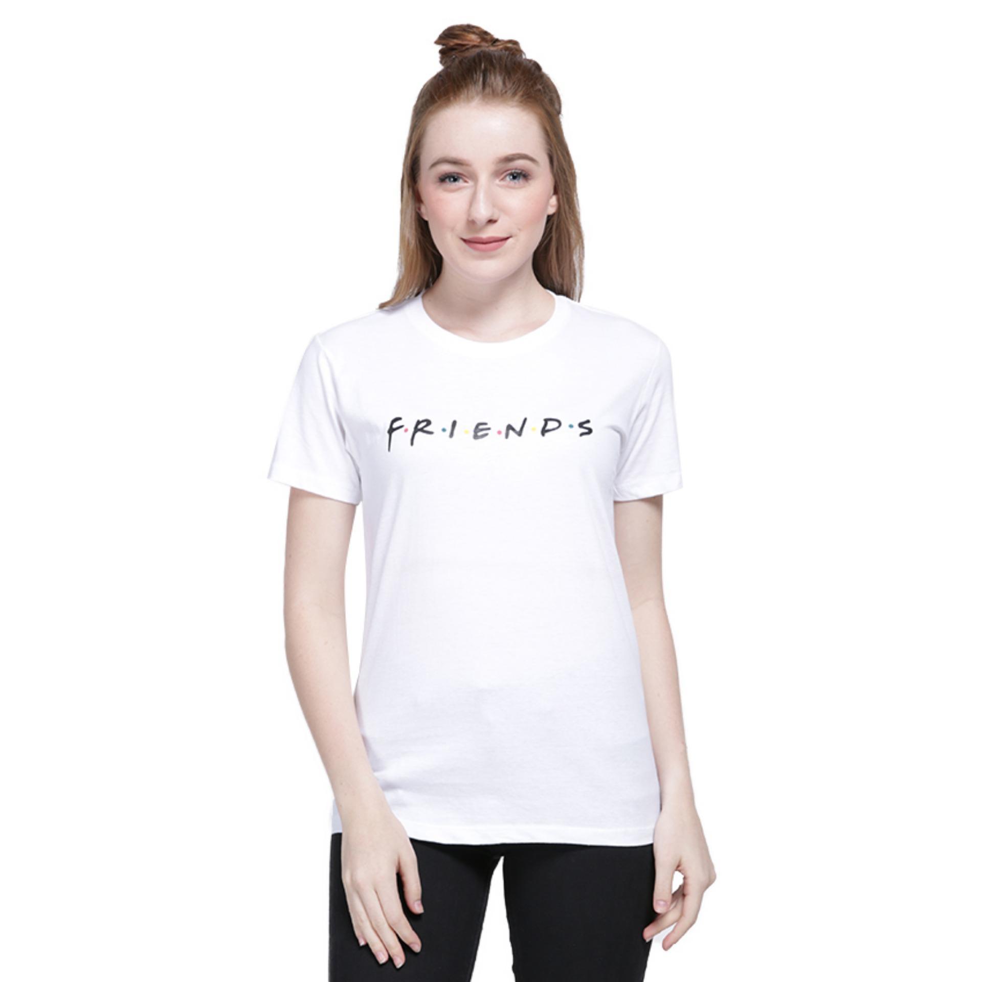 Vanwin - Tumblr Tee / Kaos Cewek / T-Shirt Wanita Friends