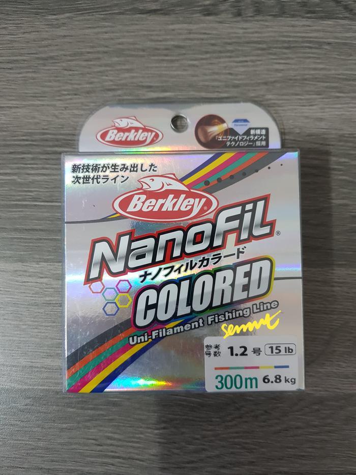 BERKLEY NANOFIL COLORED  15LB 300M - 9DuNPT