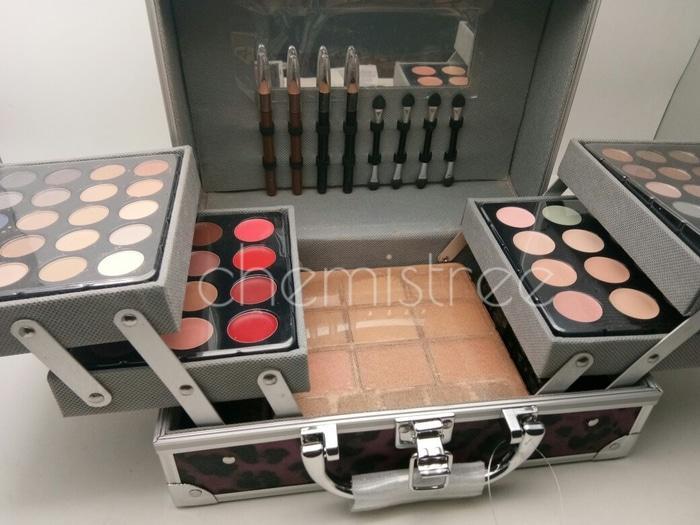 ... Palette Eyeshadow Blush Lipliner Eyebrow Pencil Pilihan Case Cantik - 3 ...