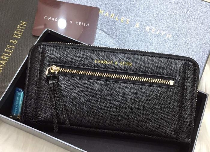 DOMPET WANITA ORIGINAL CHARLES AND KEITH ZIPPER  (BEST PRICE) - M6rzEa