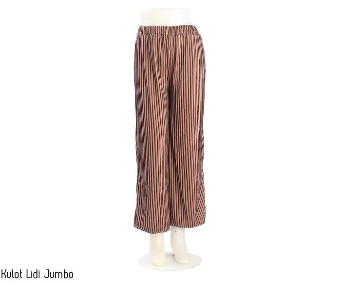 TERKECE Celana Panjang Wanita Celana Kulot Murah Celana Kulot Lidi Jumbo PROMO