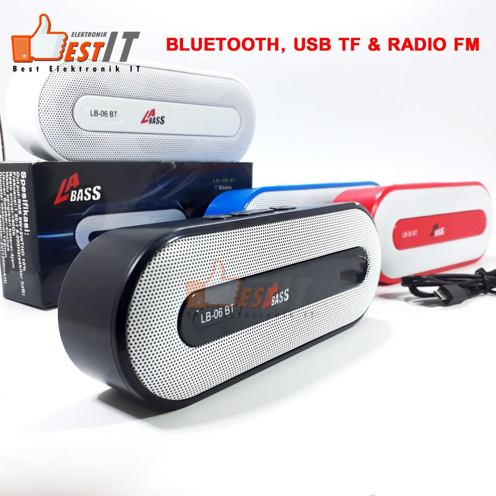 Speaker Portable Bluetooth Radio FM USB TF LB06BT
