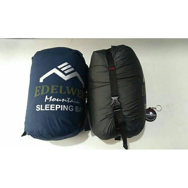 Compression Sleeping Bag Edelweis Mountain Original Ultra Light 3Layer Dacron