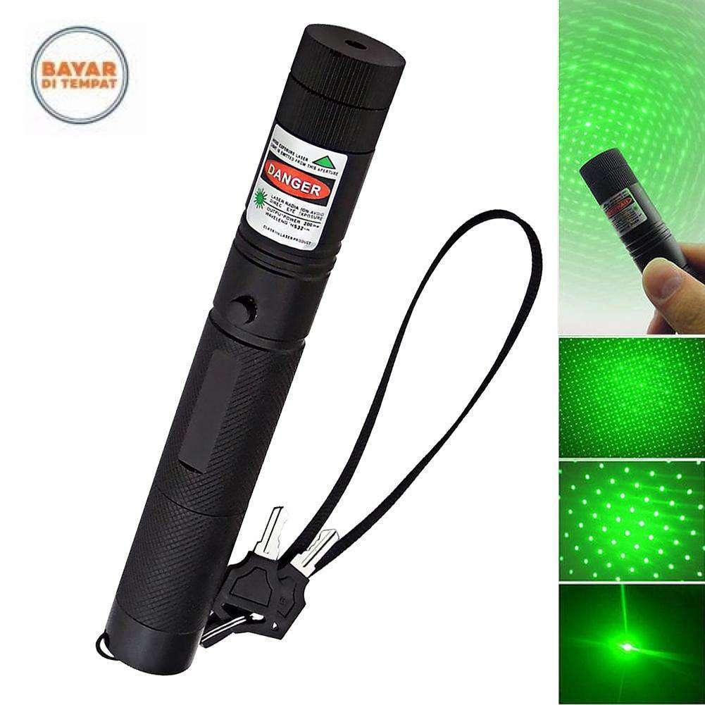 Kelebihan Green Laser Pointer 303 Cas Recas Recharge Hijau Atau 3