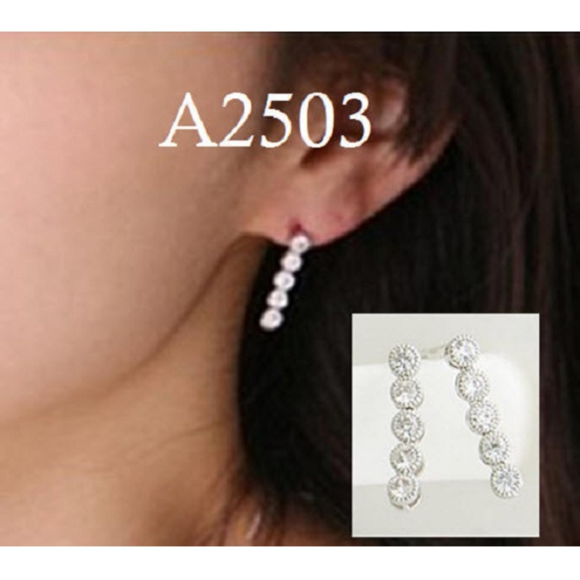 Anting Panjang (Jual Kalung Korea Gelang Cincin Perhiasan Set Xuping)