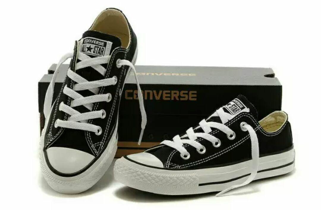 Sepatu Converse low ukuran jumbo big size 45 panjang kaki max 29,5cm