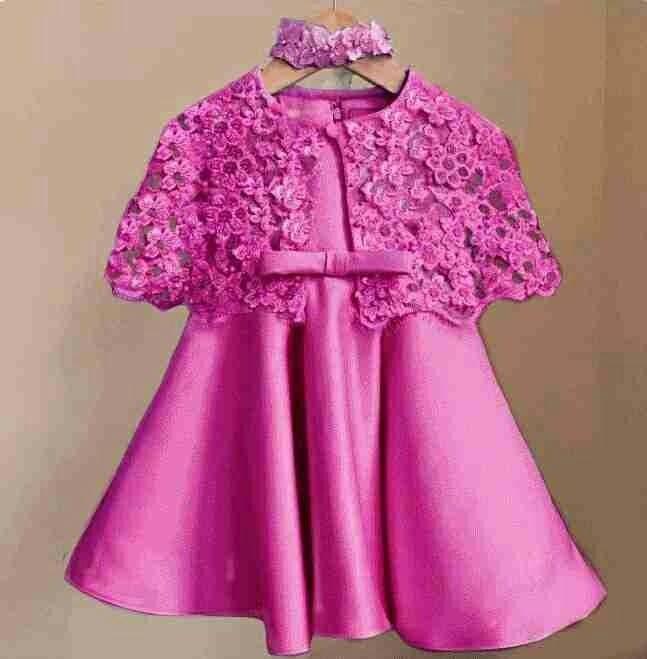 MJ Dress Anak Cape Kiddy Kids - Korean silk