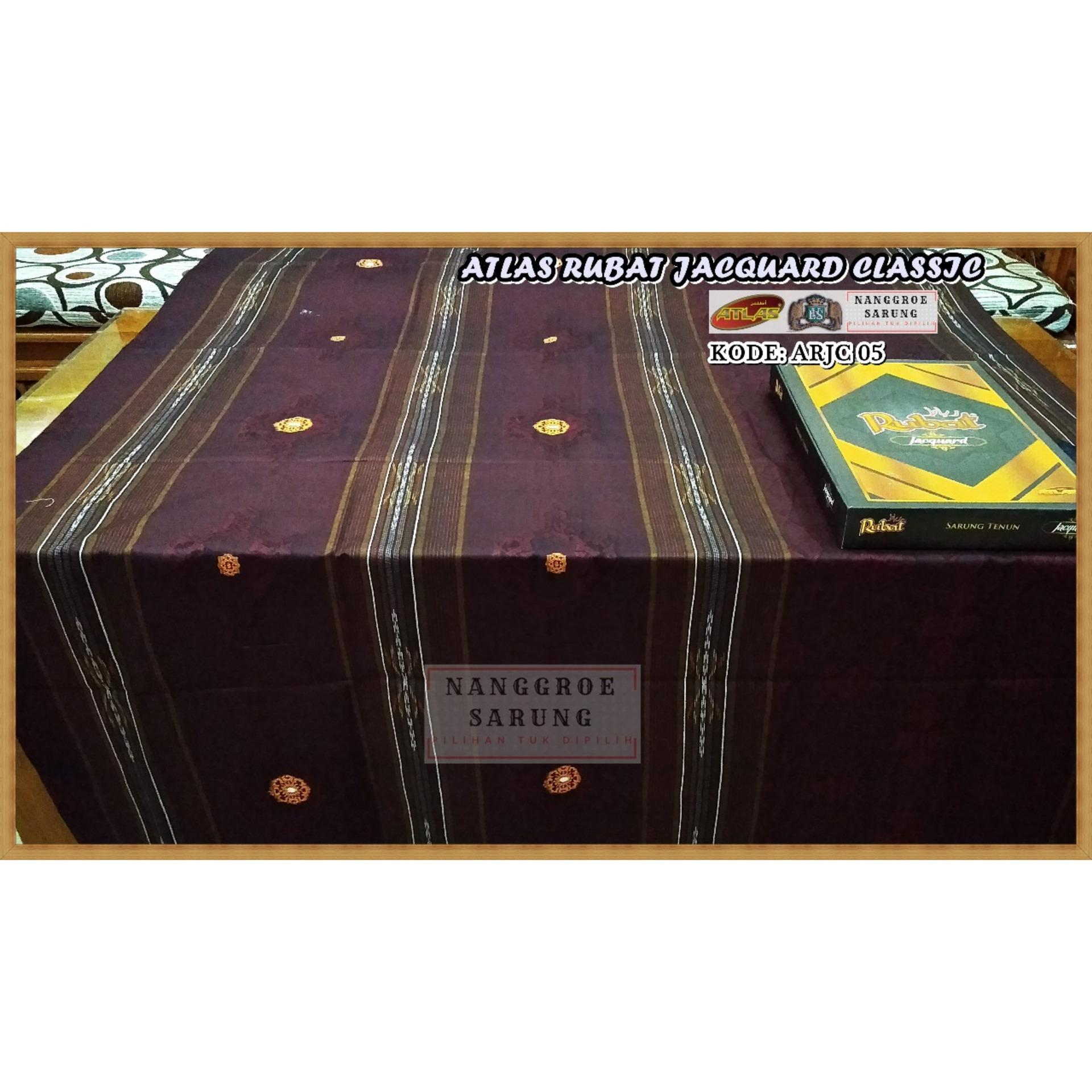 Sarung Atlas Rubat Motif Jacquard Classic 5