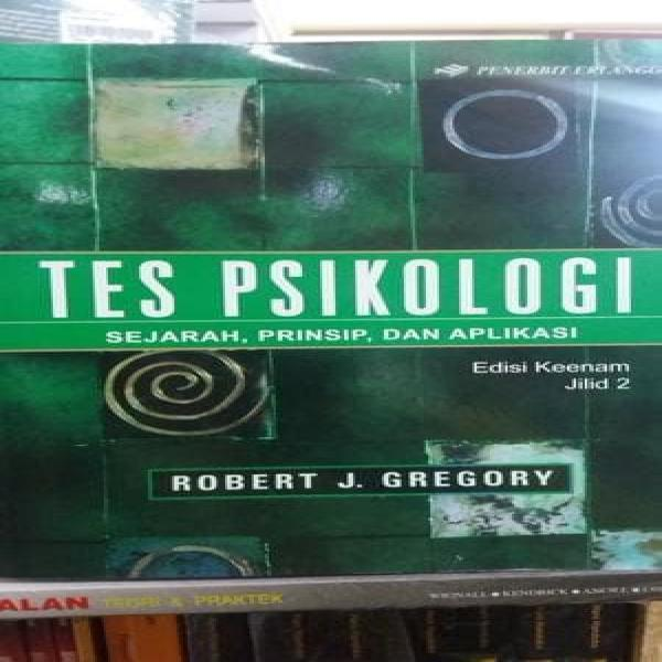 Buku Tes Psikologi Jilid 2 Edisi Keenam By Robert J Gregory