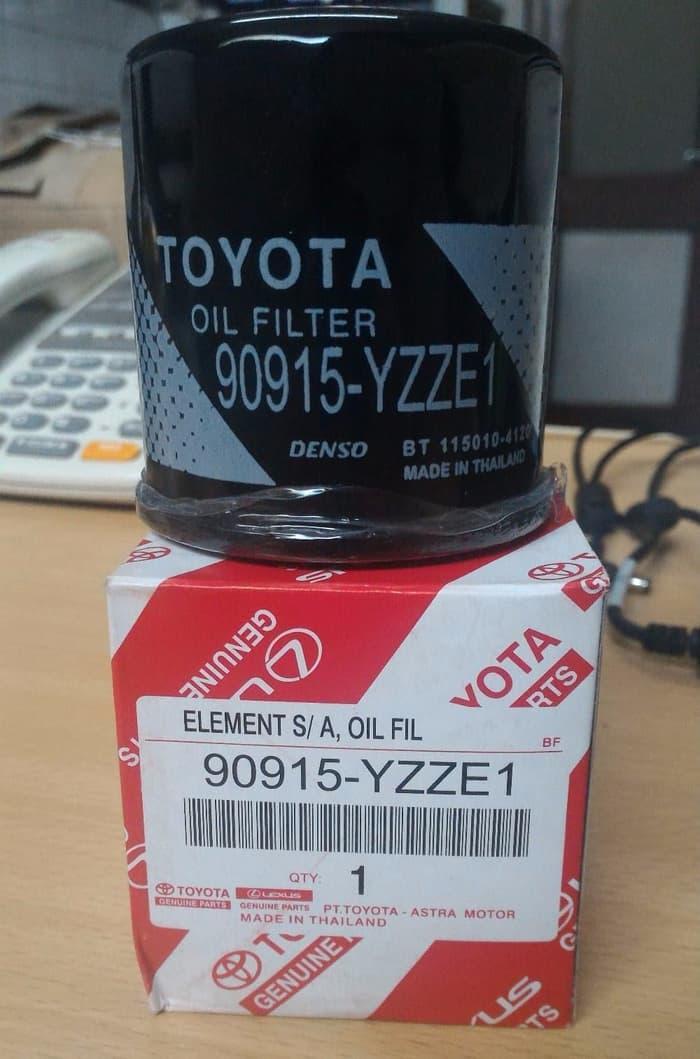 SPECIAL Filter oli Toyota Yaris ORIGINAL 90915 YZZE1 made in Thailand