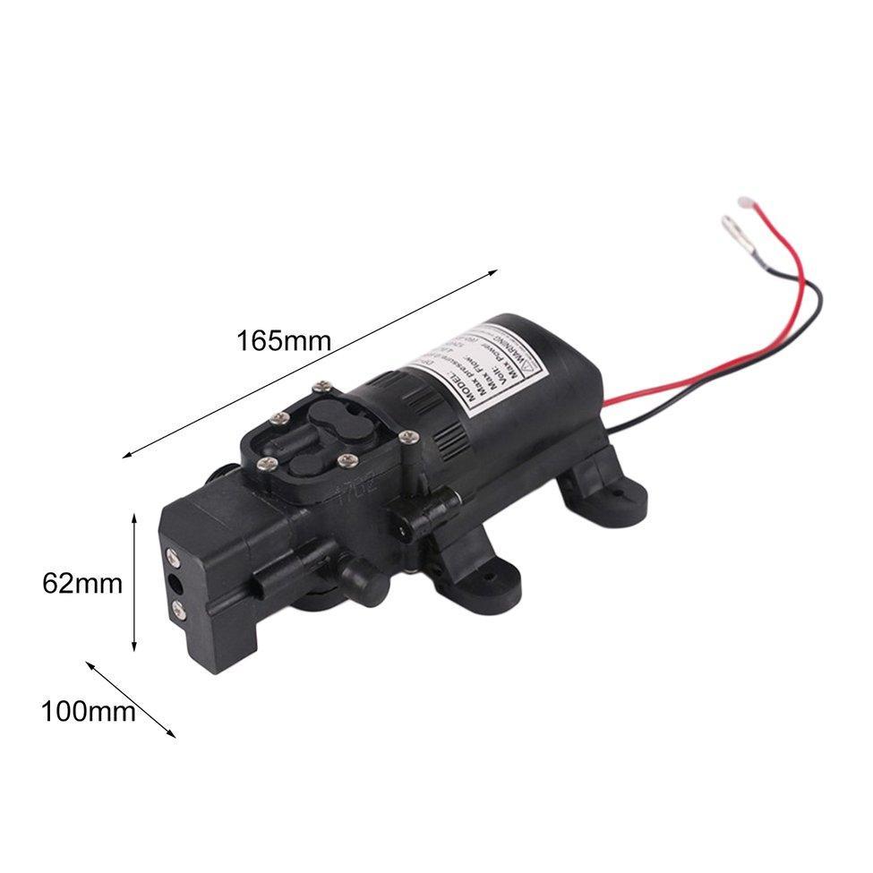 UINN New Dc 12V 60W Motor High Pressure Diaphragm Water Self Priming Pump 4.0L/