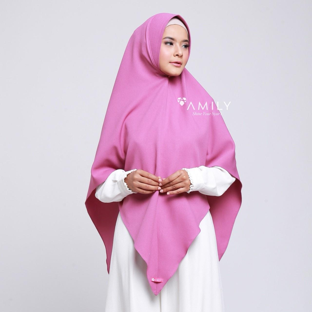 Buy Sell Cheapest Luna Bazaar Cyra Best Quality Product Deals Clarette Wedges Brown Khimar Amily Hijab