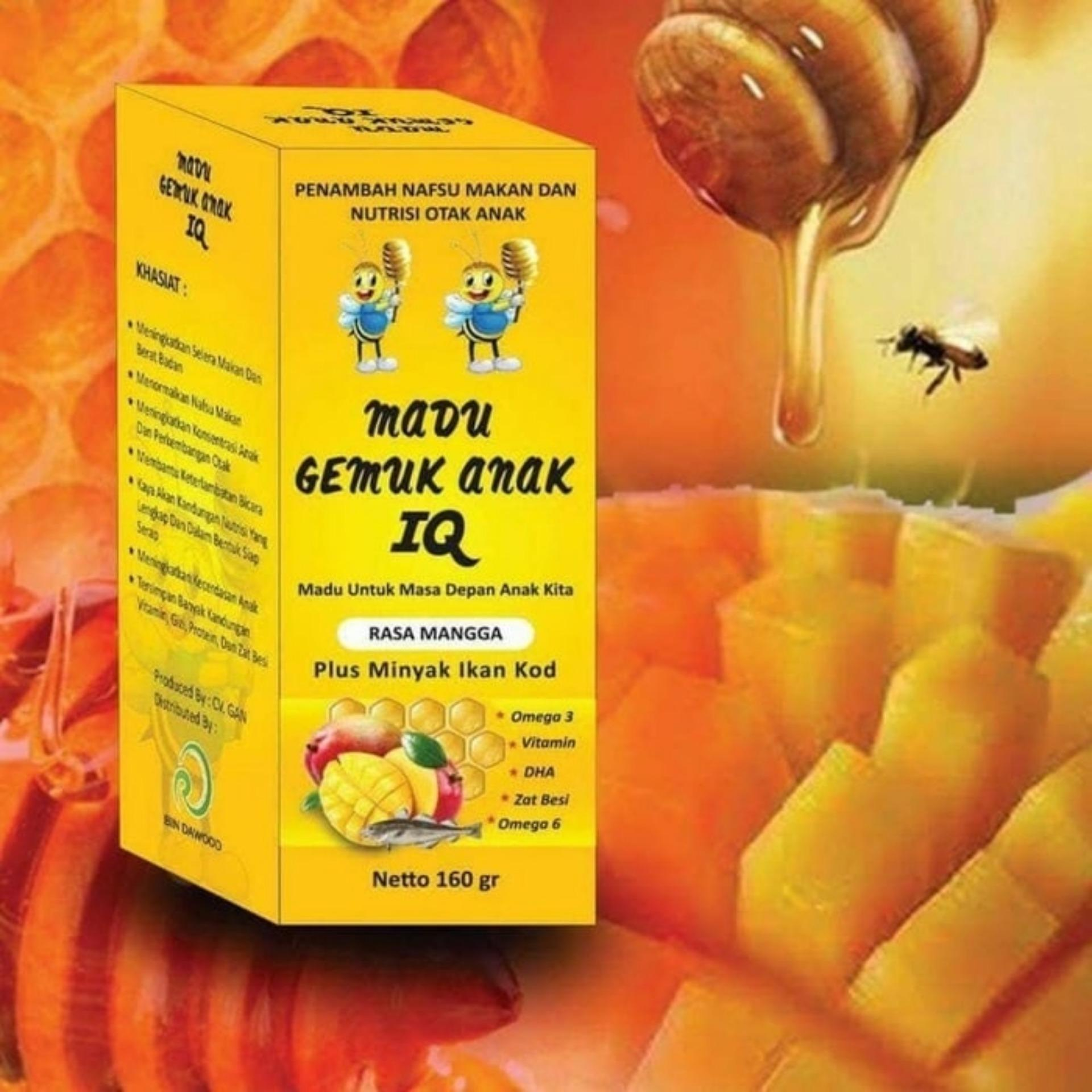 ... 200g Source HWI Mr Pro Madu Murni Propolis Penambah Nafsu Makan Penggemuk