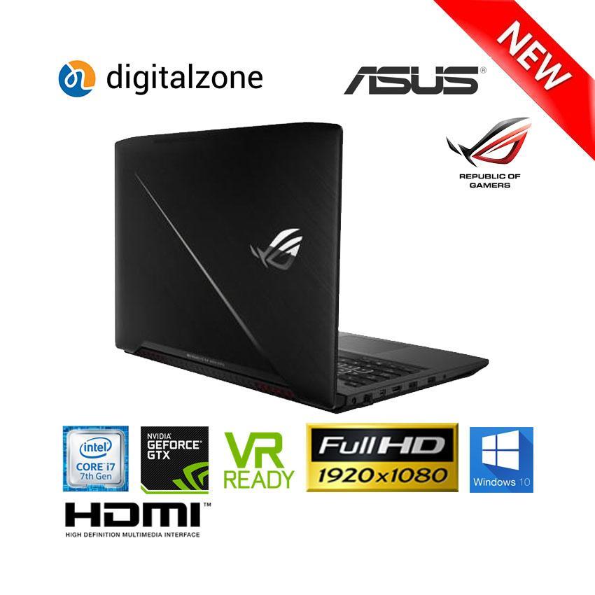 ASUS ROG GL503VM - Core I7 - 8GB RAM - 128GB SSD - 1TB HDD - GTX1060 - W10 - 15.6 Inch FHD