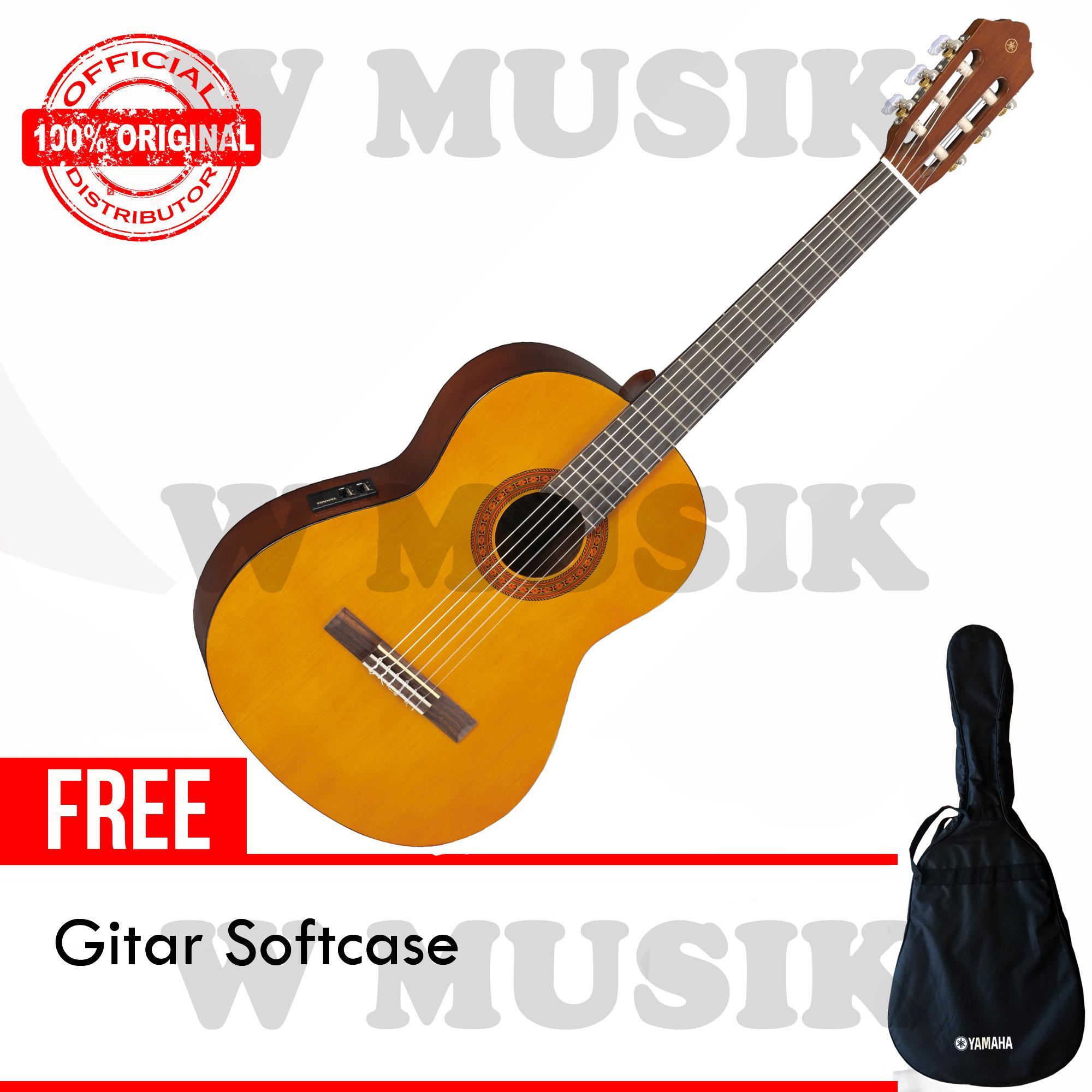 Yamaha Gitar Akustik Elektrik CX-40 / CX40 / CX 40 - Natural + Gratis Softcase
