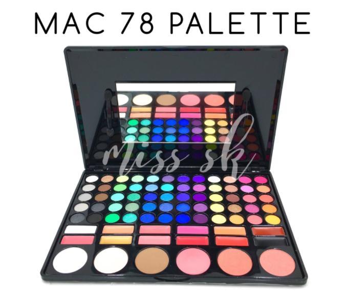 Makeup Set MAC Palette 78 Full Colour / Kosmetik Premium Quality - eye shadow high quality-  Terlaris