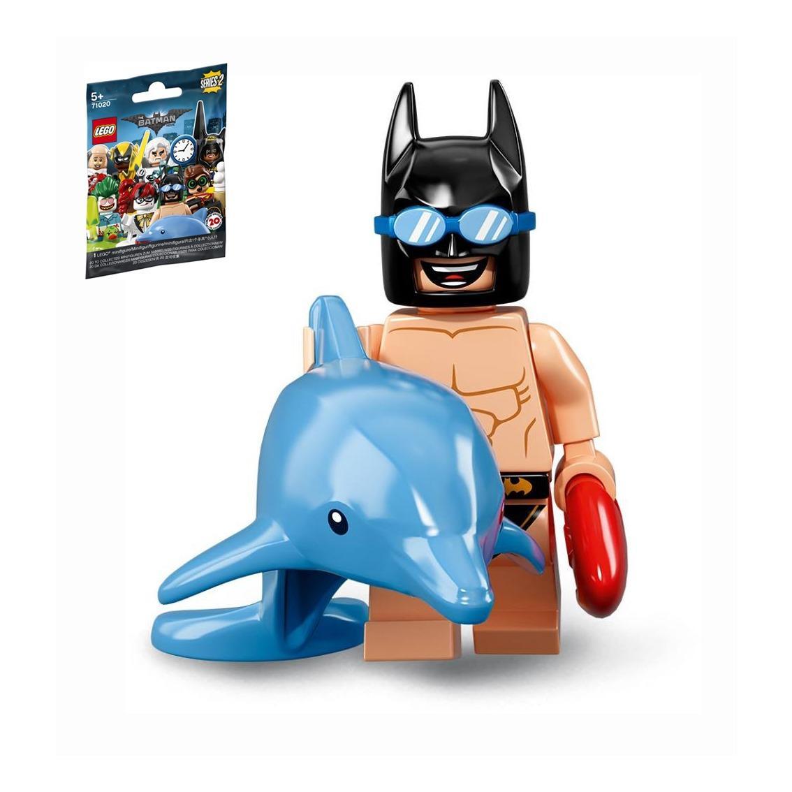 Sealed - Swimming Pool Batman Lego 71020 Minifigure Batman Seri 2 no 6