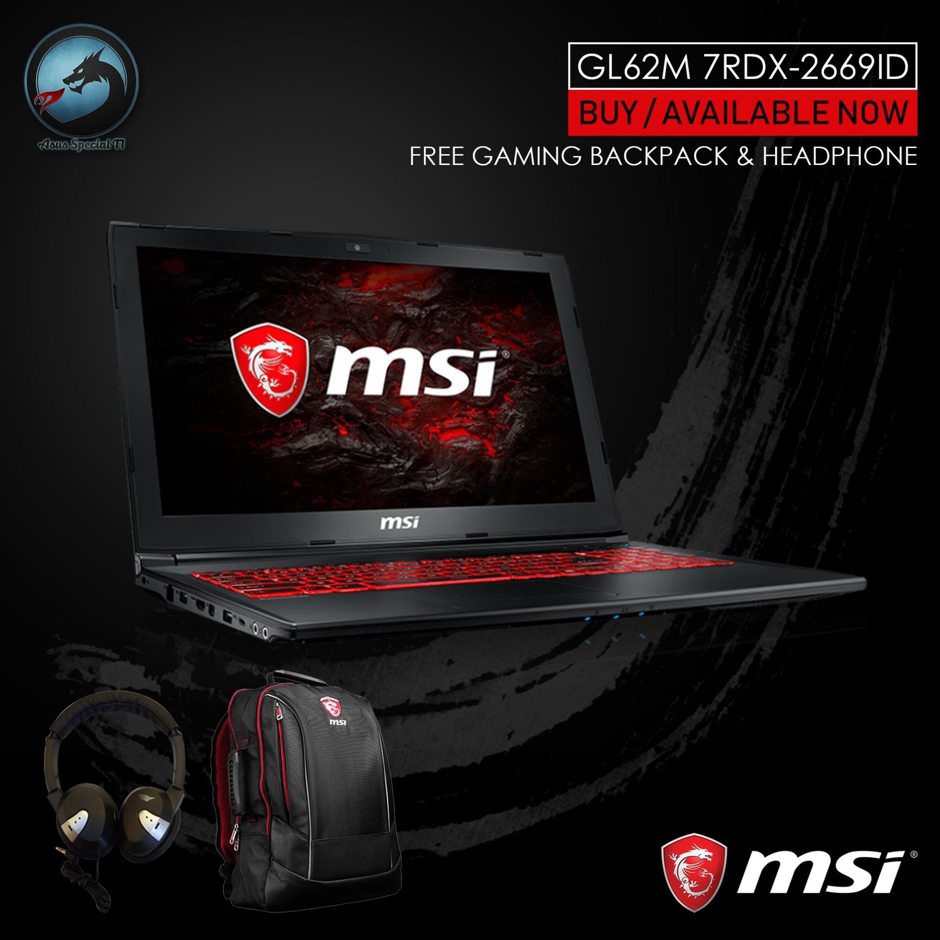 MSI GL62M 7RDX-2669ID 15.6