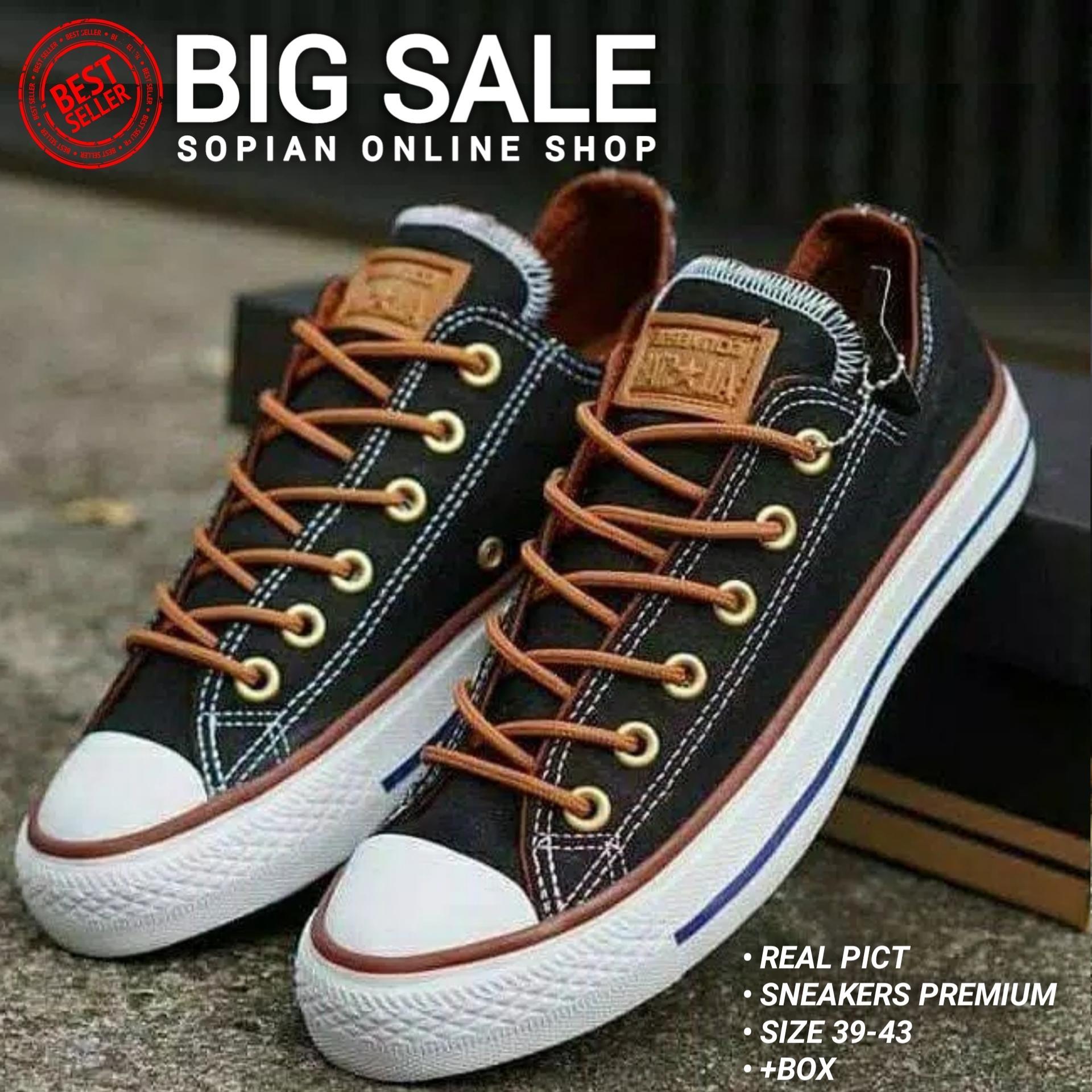 Sepatu Pria Sneakers Convers AllStar Premium