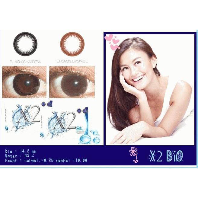 Softlens X2 Bio / Soft Lens Exoticon Bio Depkes Korea Ada Minus Murah