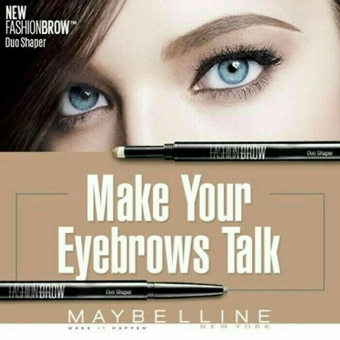 MAYBELLINE FASHION BROW DUO SHAPER (EYEBROW PENCIL)
