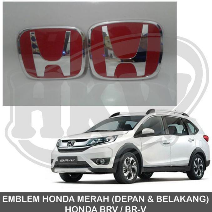 Emblem Honda Merah BRIO JAZZ BRV HRV MOBILLIO Dll T1276IDR420000 Rp 474000