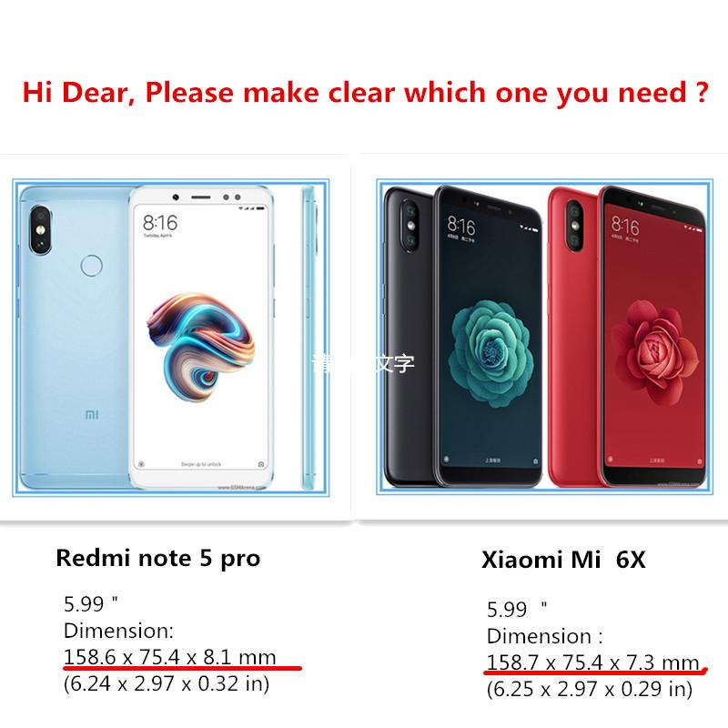 Amazon Source · Jual Sarung Untuk Xiaomi Mi A2 Mi 6x Glasshd Jelas .