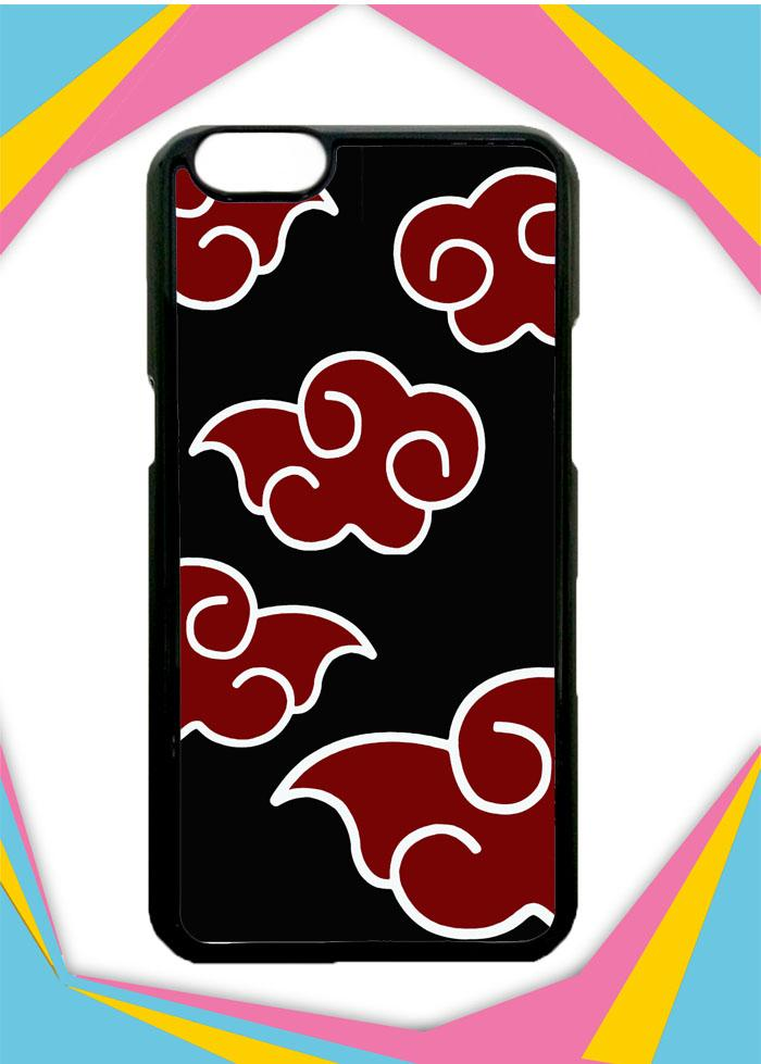 Casing OPPO F3 Plus Custom Hardcase Naruto Akatsuki Cloud Emblem Case Cover