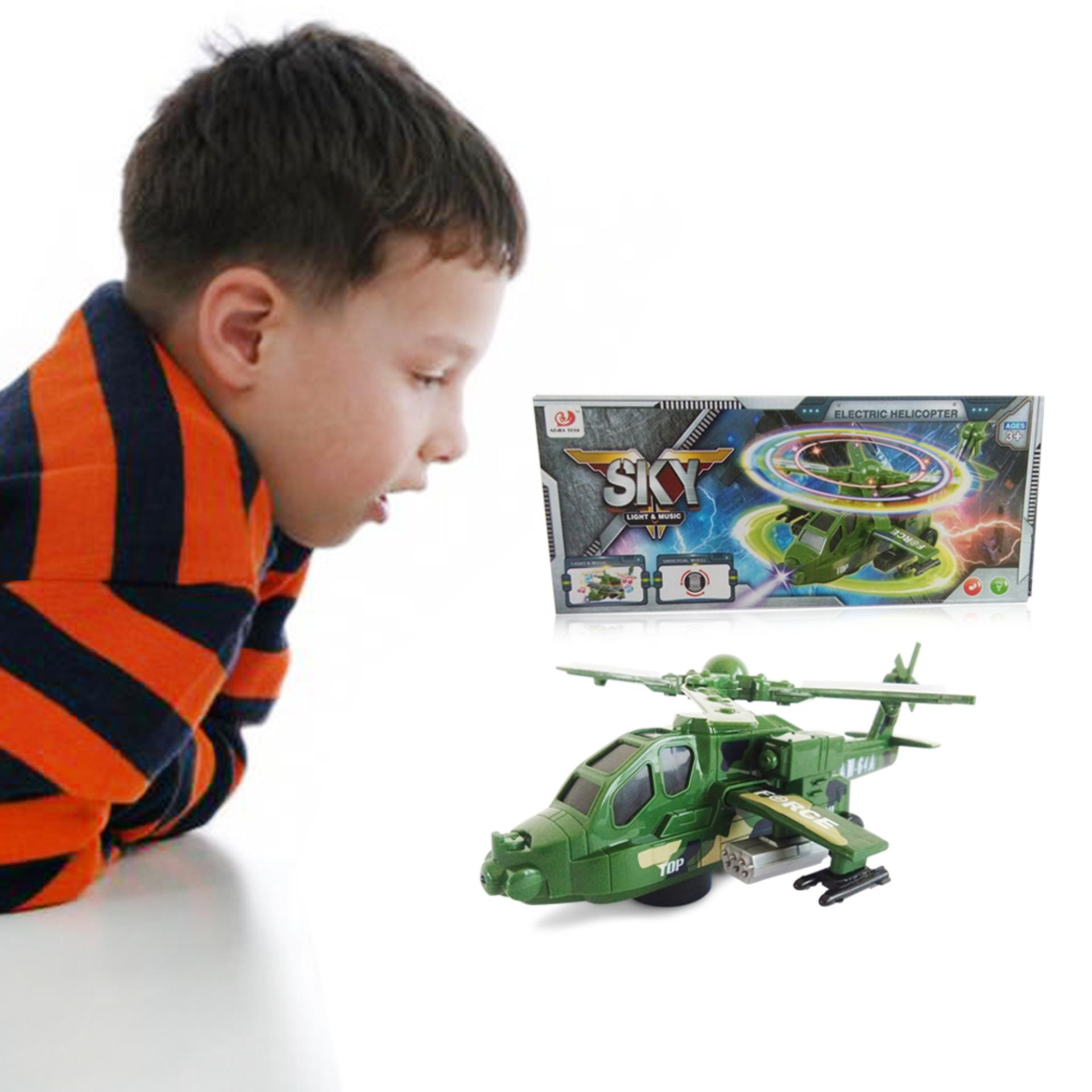 Ocean Toy Terompet Mainan Musik Anak Oct3210 Multicolor Daftar Sky Electric Helicopter 8811 3