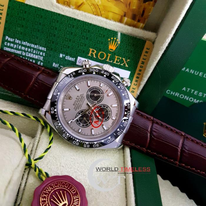 Jam Tangan Pria Merk Rolex Daytona Type : 0000 Matic