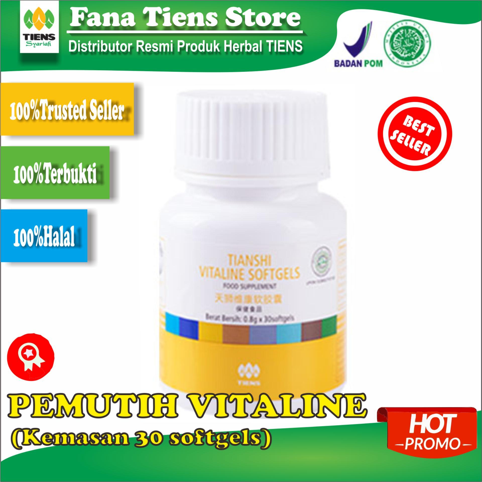 Tiens Herbal Pemutih+Pencerahan Kulit Maksimal Manja Vitaline Paket Hemat (Promo) Seller Resmi by Fana Tiens Store