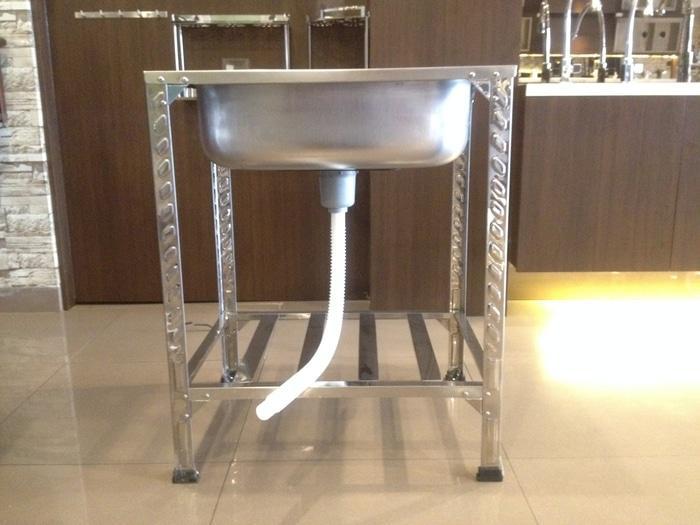 Bak Cuci Piring - Kitchen Sink Kaki Meja Portable Welden 66PK