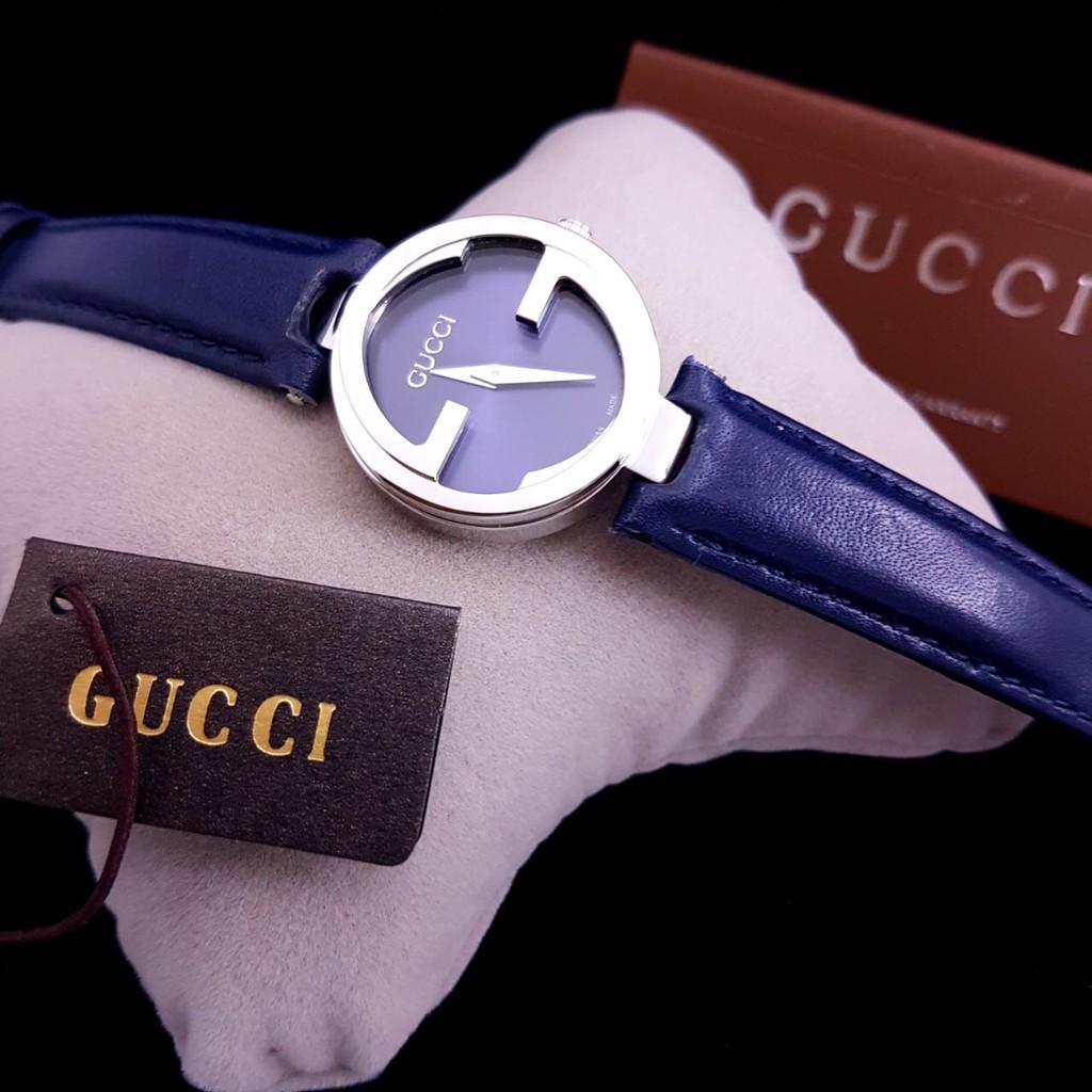 Jam Tangan Wanita Merk Gucci Original BM Type 13.3 Free Yes