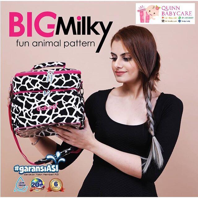 Tas Asi Gabag - Thermal Bag Gabag Milky Cow - Tas Cooler Bag Gabag Milky Cow