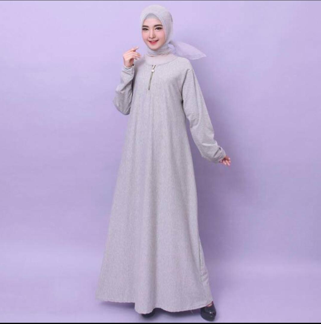Fox- GAMIS POLOS MURAH! Baju Gamis Wanita Gamis Jumbo Polos 9621 / 9622- Gamis muslimah