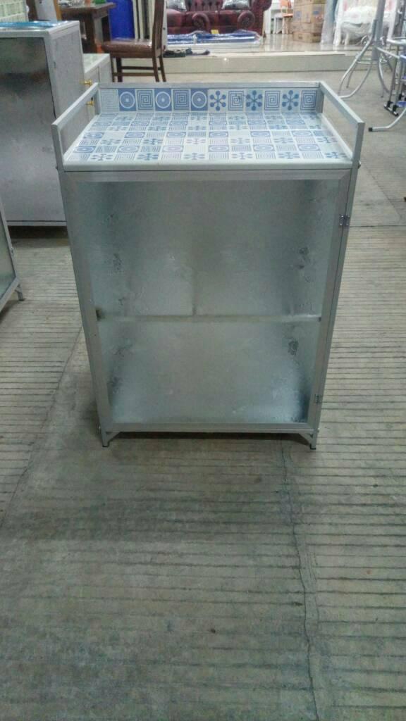 rak kompor mini aluminium 1 pintu